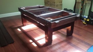 Correctly performing pool table installations, Ottawa Ontario